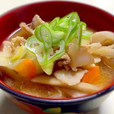 今日からコシヒカリ新米✨ ご飯に合う料理にと、秋刀魚の塩焼きと豚汁。 - 29件のもぐもぐ - 豚汁 by minicoopers44