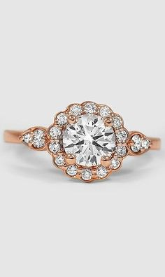 I don't go for diamonds often, but I can make an exception for this Camillia Diamond engagement ring...
