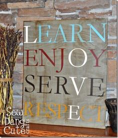 Great Reminder!  Would be good for Sara's youth room.