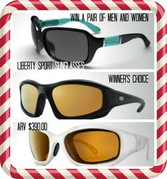 #Win two pairs of #LibertySport #Sunglasses one for men and for women-Winner's choice ARV $390.00 #HolidayGift #Glasses #Sunglasses #Apparel #Accessories #Giveaway #ad  http://born2impress.com/liberty-sport-exclusive-eyewear-solutions-for-men-women-giveaway/