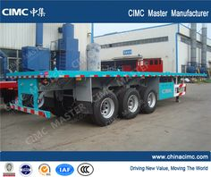 cimc container flatbed trailer .rick.che  email :may@chinacimc.org +008613589025822