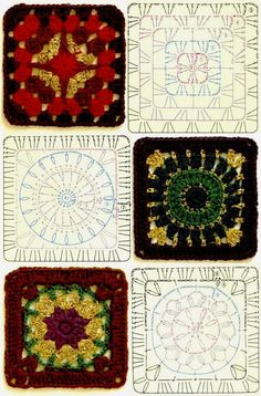 Knitting and crochet bedspread patterns - the rum