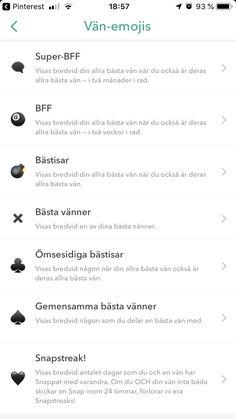 Friend emojis black - Hairstyles For All Snapchat Friends List, Friends Emoji, Snapchat Friend Emojis, Snap Friends, Names For Snapchat, Snapchat Message, Instagram Snap, Instagram And Snapchat, Snapchat Streak Emojis