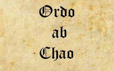 Dag 272 - Ordo ab Chao