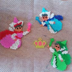 Sleeping Beauty hama beads by jane_kukuruz