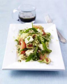 Tomaten-Couscous-Salat mit Oliven