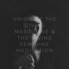 The relationship of the divine feminine Brain Yoga, Deep Meditation, How To Manifest, Divine Feminine, Dreaming Of You, Lisa, Spirituality, Marriage, Healing