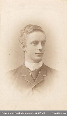 Theodor Frolich  Oslo, Norway  1889  Professor