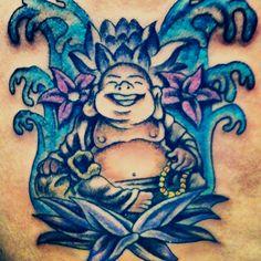 My Buddha tattoo! Love Buddha...