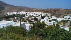 Tinos island Greece.Pyrgos village July 2018