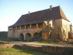 Le Prebytère. Abbaye-de-Saint-Avit-Senieur. Dordogne / Périgord, Aquitaine