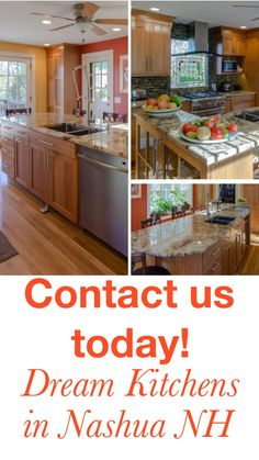 Cherry Wood Cabinets, Wood Kitchen Cabinets, Kitchen Sink, Kitchen Organization, Kitchen Storage, Kitchen Island Lighting, Modern Kitchen Design, Kitchen Accessories, Kitchen Remodel