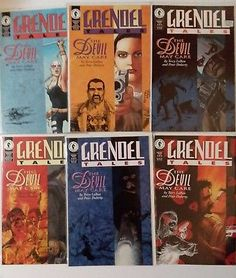 GRENDEL TALES the Devil May Care 1 2 3 4 5 6 Dark Horse Full run complete series