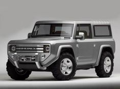 2012 Ford Bronco Concept......if only it would have made it to production.