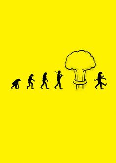 #evolution | Nuclear Evolution by Handoko Tjung |How nukes can affect mankind..。