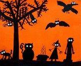 Artsonia Art Exhibit :: Spooky Silhouettes!!