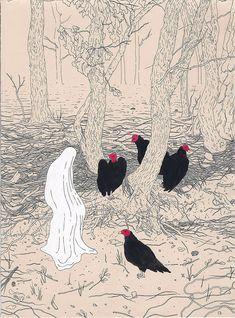Illustrations by artist Jenna Andersen