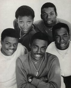 New Edition #awesomeness...not that they were the best singers, but even now, they are the best performers!!