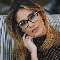 beabeb3e4b3 QPeClou Vintage Clear Lens Glasses Women Fashion Brand Glasses Frame Ladies 2018  New Eyeglasses Frame Female