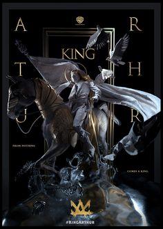 "ArtStation - King Arthur: Legend of the sword — Special ""art"" poster, Federico Pelat Graphic Design Posters, Graphic Design Inspiration, Graphic Art, Bild Girls, Keys Art, 3d Artwork, Cg Art, Grafik Design, Illustrations And Posters"