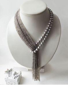 Необычные бусы  #JewelryIdeas