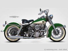 Duo glide | Amir Glinik, designer : Harley Duo Glide