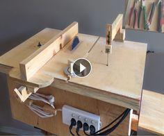 Homemade 4 in 1 Workshop (table saw, router table, disc sander jigsaw table) 4 in 1Çalışma İstasyonu