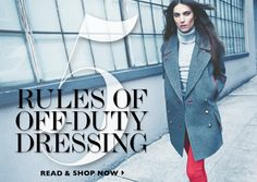 5 Rules Of Off-Duty Dressing