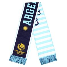 Don't wait any longer to order your Argentina Copa America HD Woven Scarf! The team needs your spirit. Pick your favorite scarf now.