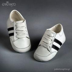 Δερμάτινα Δετά Sneakers Αγκαλιάς Everkid 9105A Boy Christening, Adidas Superstar, Adidas Sneakers, Boys, Leather, Fashion, Young Boys, Moda, Adidas Shoes