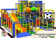 This is a bridge that is in an indoor play structure. Great addition ...