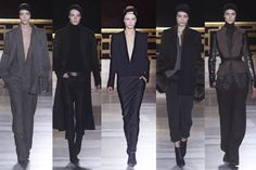 Ackerman 2014 Fall Collection Love the strong lines and vs