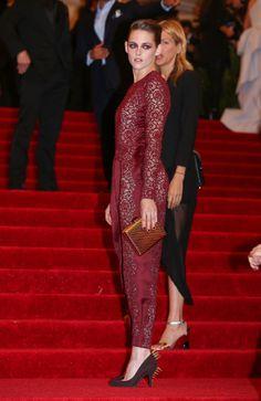 Kristen Stewart Fashion Style Met Gala 2013