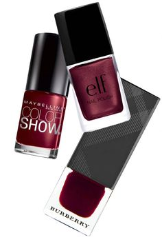 Holiday 2014 Nail Colors - Best Nail Polish Colors for Winter - Elle