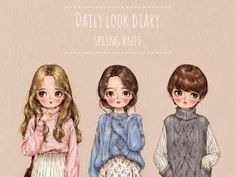 Daily look diary - Spring Knit