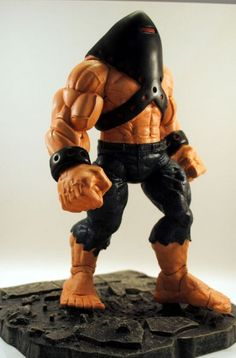toycutter: Ultimate Juggernaut action figure (Marvel Comics)
