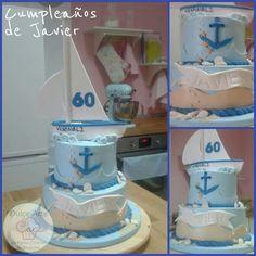 Tarta velero by dulce arte cakes