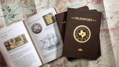 For anyone that has a genuine love for Texas and Texas History—the Republic of Texas Passport.