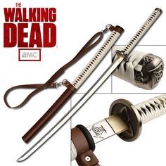 The Walking Dead Michonne Sword is Crafted for the Die-Hard Fan trendhunter.com