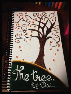 El árbol. Cositas en papel que hago para relajarme. Boceto 2. 12/05/2012.