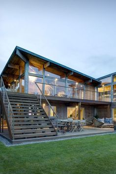 Modern Home Design in 4 Easy Steps Top 5 Most Beautiful Steel Homes Cost Of Prefab Concrete HomesUltra Modern House Floor PlansCost Of Prefab Concrete Homes beauty architecture Barndominiums Modern House Floor Plans, Modern House Design, House Plans, Container Home Designs, Steel Frame House, Steel House, Metal Building Homes, Building A House, Plans Architecture