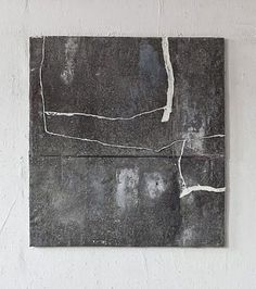 TITLE: Zeichnung (Zinc sheet) ARTIST: Jupp Linssen (German, b.1957) WORK DATE: 2010 MATERIALS: Oil, zinc sheet SIZE: h: 115 x w: 105 cm / h: 45.3 x w: 41.3 in