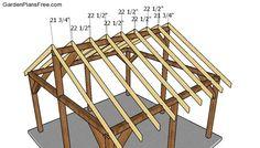 Fitting the rafters Gazebo On Deck, Diy Gazebo, Gazebo Plans, Backyard Gazebo, Backyard Patio Designs, Pergola, Roof Trim, Framing Construction, Outdoor Pavilion
