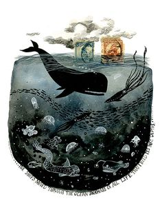 Diana Sudyka - I adore all of her work. Perfect mixture of earthy folk art and whimsical poetry.
