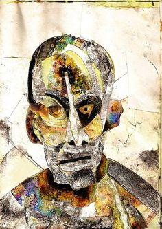 Cet artiste a réalisé plusieurs autoportraits sous l'emprise de différentes drogues, portrait sous morphine ici.