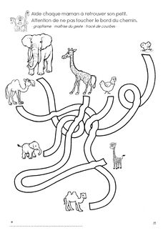 Zoo Animals, Animals For Kids, Preschool Zoo Theme, Coloring Pages, Activities For Kids, Homeschool, 1, Creative, Mazes For Kids