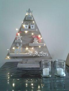 Stijgerhouten kerstboom