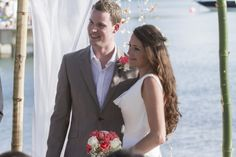 Beach wedding -St James Club, Antigua - Chris & Pippa