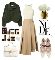 """12.02.18"" by caglatersak on Polyvore featuring moda, Yeezy by Kanye West, 3.1 Phillip Lim, Gucci, MANGO, Tom Ford, LSA International, GREEN, ootd ve polyvorefashion"