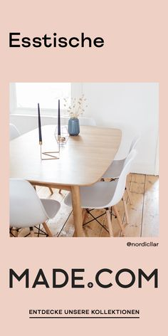 Tolle Tische für dein Esszimmer Dining Room Decor how to decorate a small dining room Interior Design Living Room, Living Room Designs, Diy Tisch, Esstisch Design, Simple Bed, Dining Table Design, Dining Tables, Family Room Design, Cuisines Design